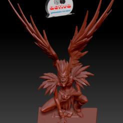 Download 3D printer files Death Note - Ryuk, 3dactive