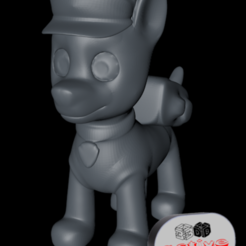 Download 3D printer files Patrol Rescue - Chase, 3dactive