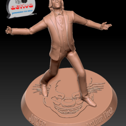 Télécharger fichier 3D Joker, Arthur Fleck, 3dactive