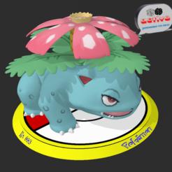 Descargar modelo 3D Pokemon Venusaur, 3dactive