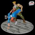 Descargar STL Street Fighter - Chun Li vs Guile, 3dactive