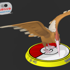 Descargar archivos 3D Pokemon Fearow, 3dactive