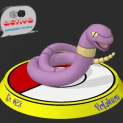 Descargar archivo 3D Pokemon Ekans, 3dactive