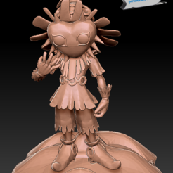 Download 3D printer model Skull Kid - Legend of Zelda., 3dactive