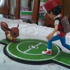 Download 3D printer model Pokemon Catch - Red., 3dactive