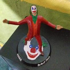 Download 3D printing models Joker, Arthur Fleck, 3dactive