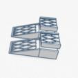 rampes v2.png Download free STL file Access ramps 2 • 3D print object, Garage143