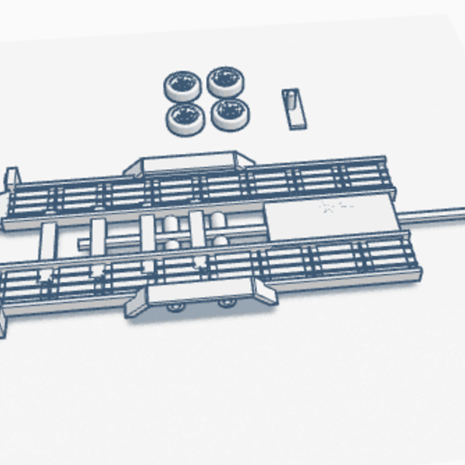 remorquePv.png Download free STL file Car flatbed trailer • Object to 3D print, Garage143