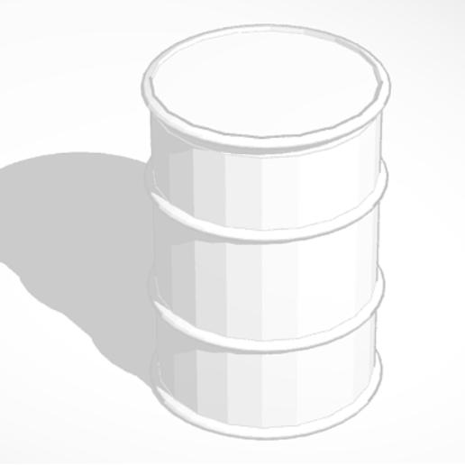 Download free STL file Oil can #2 - 1:43 • 3D printer design, Garage143
