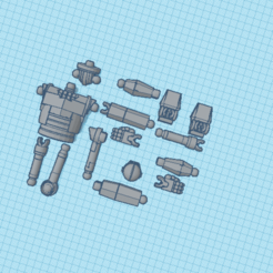 Copy of Iron Giant.png Download STL file iron giant action figure. • 3D printable template, dmakris14