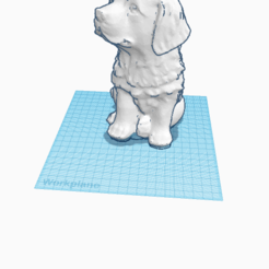 Copy of puppy.png Download STL file dog • Template to 3D print, dmakris14