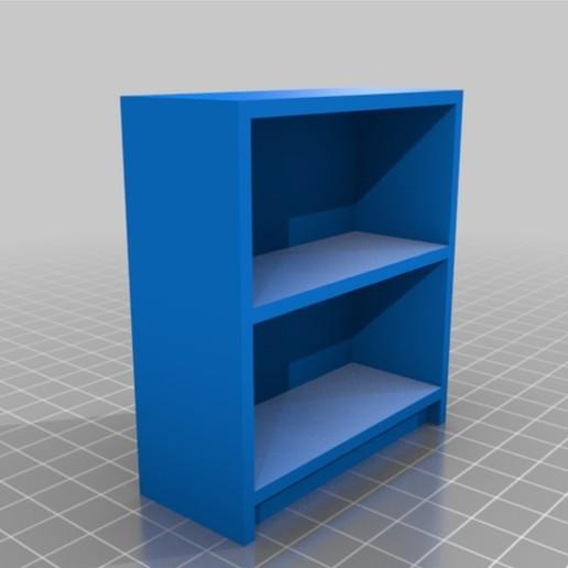 Télécharger fichier STL gratuit Bibliothèque à l'échelle 1/12 • Design pour imprimante 3D, ManMommy