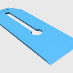 Télécharger fichier imprimante 3D gratuit No.6 Lame de rabot, ManMommy