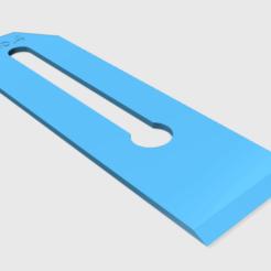 Free 3D printer designs No.4 Plane Blade, ManMommy