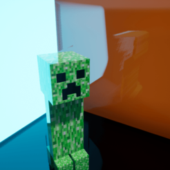 Download 3D printing templates Creeper, chinoiis