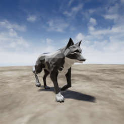 Download 3D printer model Wolf, chinoiis