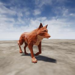 Fox.png Download OBJ file Fox • 3D printer model, chinoiis