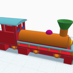 Download free 3D printer designs Train 90x15mm, hugobeauchamp2