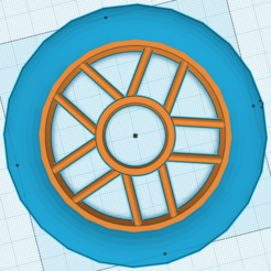 Download free 3D printing models 100 mm wheel, hugobeauchamp2