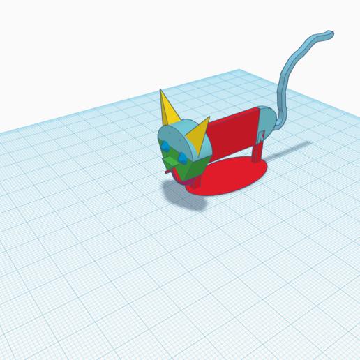 Download 3D printer designs a cat, hugobeauchamp2