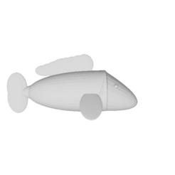 Télécharger modèle 3D gratuit Poisson, hugobeauchamp2