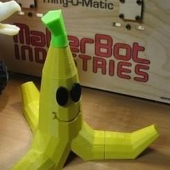 Archivos STL gratis Cáscara de Plátano, martingibson70