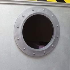 Télécharger fichier STL Hublot de décoration - Porthole decoration, Masterpit82