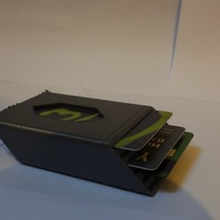 DSCN2911.JPG Download STL file Card holder Hex Wallet  • Template to 3D print, OzzieDesigns