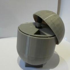 DSCN3959.JPG Download STL file Pill Holder Dispenser 7 Day • 3D printing object, OzzieDesigns