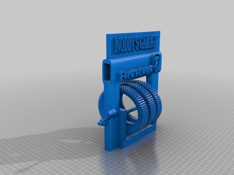 8d050e9160486d6f516bddf357c4ad06.png Télécharger fichier STL gratuit Support pour pneus de station-service • Design à imprimer en 3D, procv