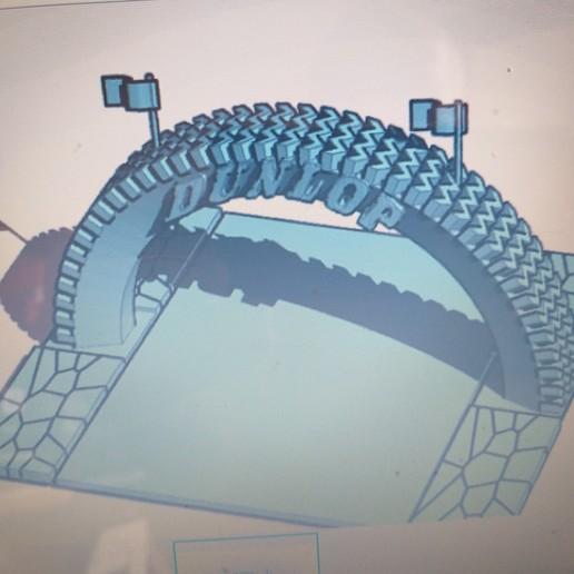 Download free 3D printer templates VINTAGE RACING ADVERTISEMENT, procv