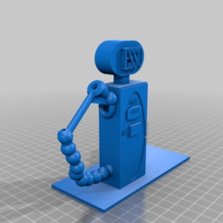 Imprimir en 3D gratis Bomba de gasolina, procv