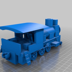 Download free 3D printer designs Locomotive, procv