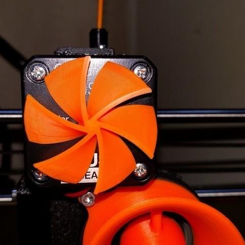 Download free STL file Extruder motor rotation indicator (Prusa i3 MK2/MK2S/MK3) • 3D print design, petclaud