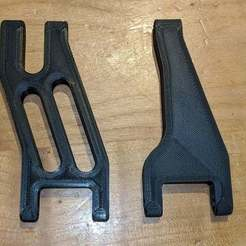 Download free 3D printing templates Tarmo4 Upper Control Arm (Rear) - 16B - Improved, petclaud