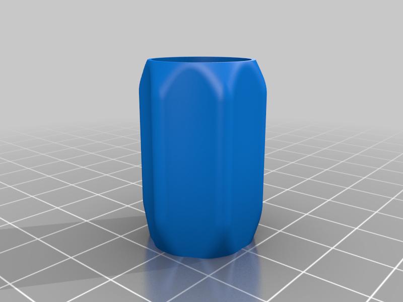 Wow_stick_grip_-_V2.png Télécharger fichier STL gratuit Grip confort Wowstick ET protection contre les arêtes vives • Modèle pour impression 3D, petclaud