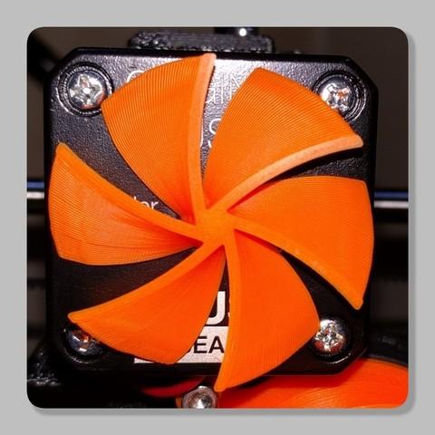 e095b65c6d5156166ad7405ed2042bef_display_large.jpg Télécharger fichier STL gratuit Indicateur de rotation du moteur NEMA (extrudeuse) (Prusa MK2(S)/MK2.5/MK3/MMMU2) • Modèle à imprimer en 3D, petclaud