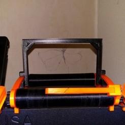 Télécharger fichier STL gratuit Easy Spool Holder - Verrouillage de sécurité de la bobine (Prusa MK2 / MK2S / MK3) • Design à imprimer en 3D, petclaud