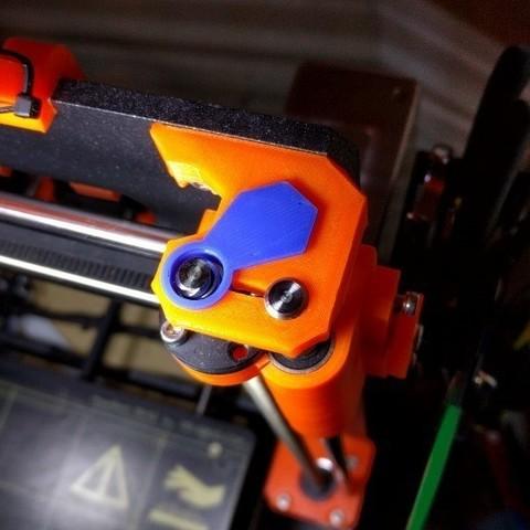 Télécharger fichier 3D gratuit Amortisseur de vibrations Prusa i3 MK2 / MK2S axe Z MK2S, petclaud