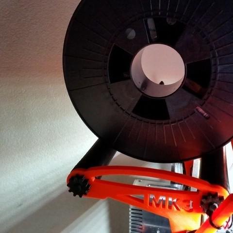 Download free 3D printer files Easy Spool Holder for Prusa MK2/MK2S/MK2.5/MK3) - updated, petclaud