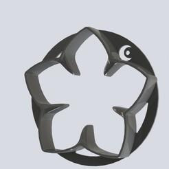 Download free 3D printer designs ROUND STAR COOKIES, jordiventura