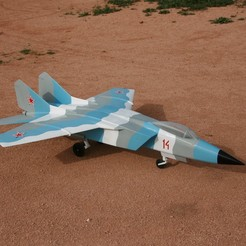 Download free 3D printing files BETA - Giant jet for 145 mm EDF - MIR-25 Boxfat, timdebra
