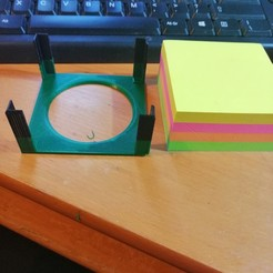 Download free 3D model Post it Note Holder (Pound shop), simonlewis962
