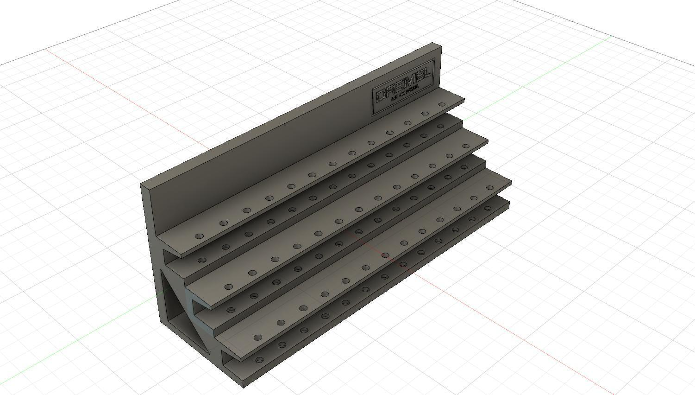 bit_holder_v2.jpg Download free STL file Dremel Bit Holder • 3D printable object, simonlewis962