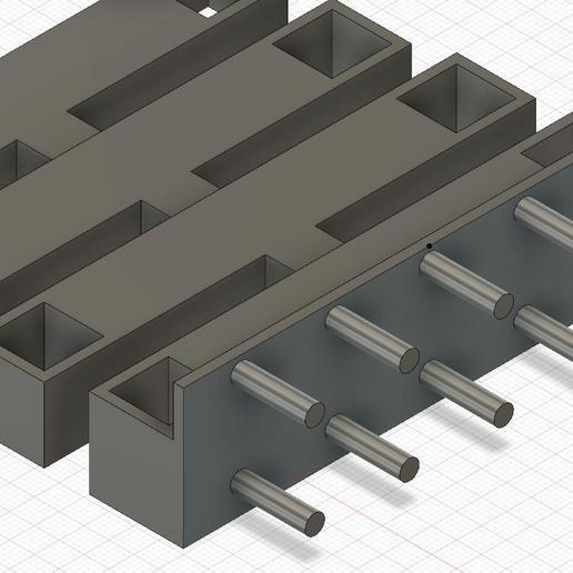 side_cutters_PEG_BOARD_19_mm_v1.jpg Télécharger fichier STL gratuit Support pour pinces coupantes de côté (planche à cheviller 19 mm) • Plan à imprimer en 3D, simonlewis962
