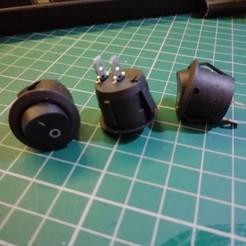 IMG_20200115_032940.jpg Télécharger fichier STL gratuit Boîtier de l'interrupteur 20 mm • Design à imprimer en 3D, simonlewis962