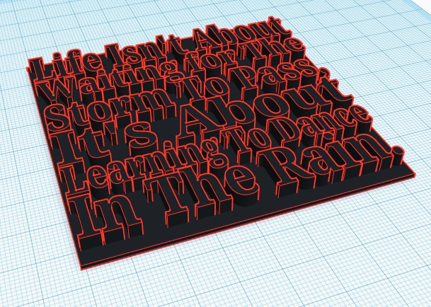 Annotation 2019-05-26 204436.jpg Download free STL file Inspiring Quote  • 3D printing object, ACD300