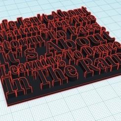 Descargar Modelos 3D para imprimir gratis Cotización Inspiradora, ACD300