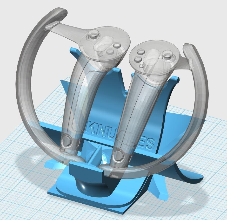 123KNUCKLES.JPG Télécharger fichier STL gratuit Détenteur d'un bracelet électronique • Objet imprimable en 3D, xutano