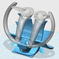 123KNUCKLES.JPG Download free STL file Nkuckles Holder • 3D print template, xutano